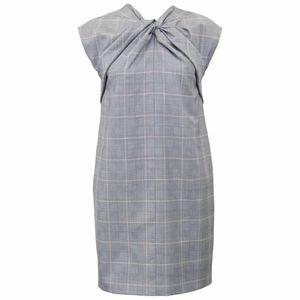 Gucci Vintage 1990's Plaid Cap Sleeve Shift Dress